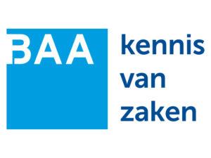 BAA Kennis van zaken logo middel